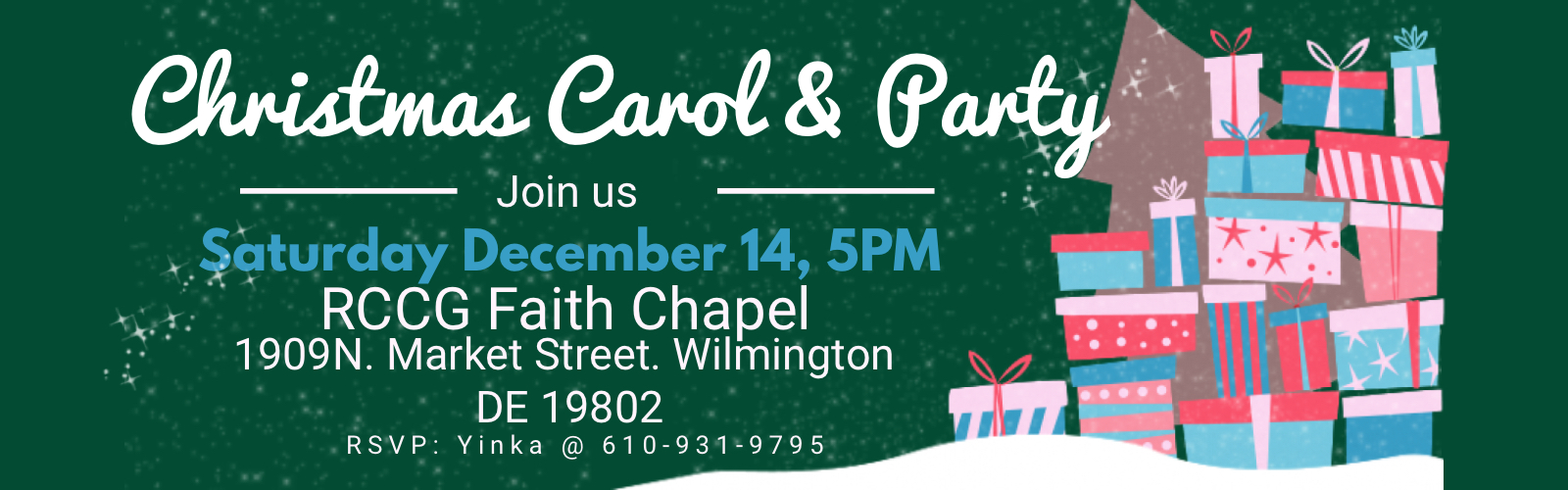 Christmas Carol and Party 2019.
