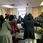 Community Thanksgiving dinner 2019