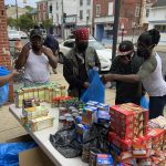 Community outreach by Faith Chapel Dorcas Pantry