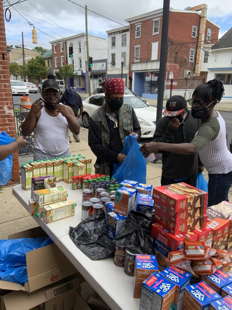 Community outreach by Faith Chapel Dorcas Pantry
